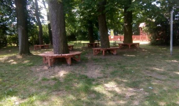"""Renowacja """"Parku pod Kasztanami"""" -  kontynuacja"""