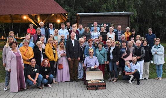 Mieszkańcy gminy Krobia z wizytą w Owieśnie